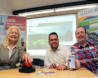 Vorstellung des neuen Logos und der Homepage der LEADER-Region Eifel