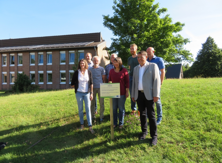Natur wieder mehr Natur sein lassen - LEADER- Projekt Dorf.Bio.Top erfolgreich gestartet
