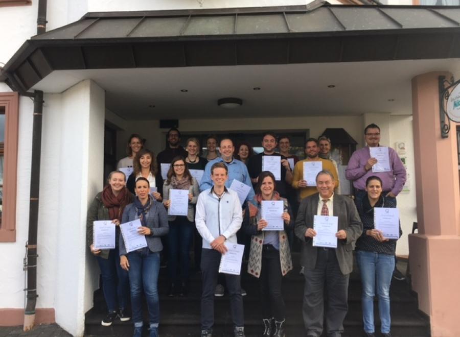 Team des Naturparks Nordeifel e.V. jetzt mit Qualitätsmanagement - Zertifikat