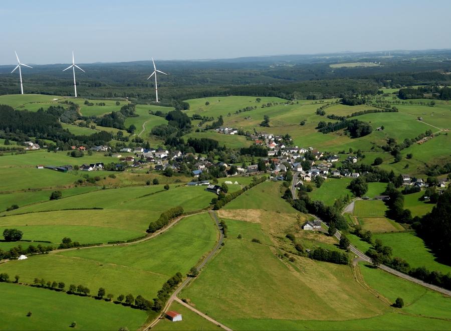 Neues Wegenetz der Gemeinde Dahlem - durch Umweltministerium gefördert