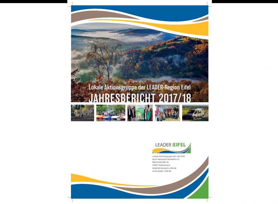 Jahresbericht LEADER-Region Eifel 2017/18 im Download-Bereich