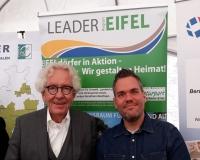 Die LEADER-Region Eifel präsentiert sich auf dem Europatag in Düsseldorf